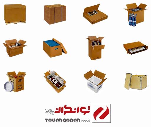 بسته بندی جعبه
